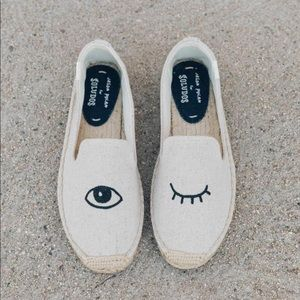 Soludos Embroidery Slip Ons